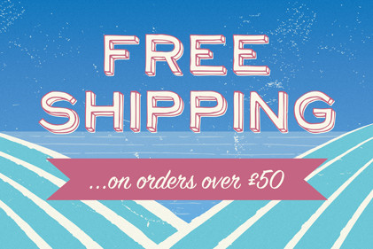 Free shipping on orders over £50