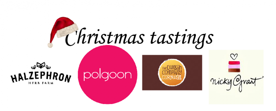 Christmas tastings & hampers in the deli