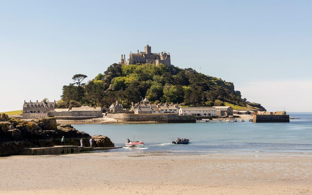 Polgoon at the Sail Loft café at St Michael's Mount, Cornwall.