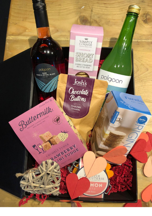 Romantic Gift Hamper Rosé